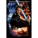 The Poster Corp Star Wars Anakin Skywalker Laminiertes