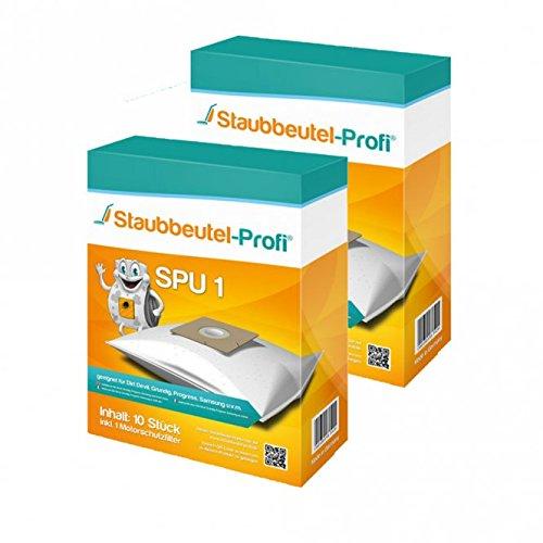 20 Staubsaugerbeutel geeignet für AmazonBasics Staubsauger, kompatibel mit Amazon Basics G51, Swirl Y05, Menalux 1840, 15C-71EU4, VCB43B1-70EU4, VCB35B15CEU4, VCB46A15F von Staubbeutel-Profi®