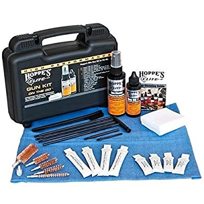 HOPPE'S Elite EGCOTG Gun Care On The Go Kit W/Case & Pillow Packs Box