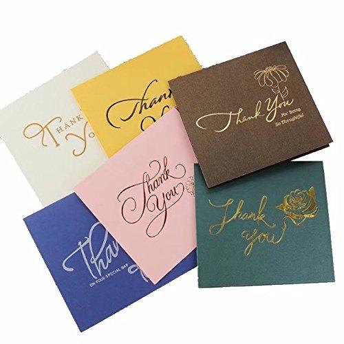 《在庫一掃セール》3Qメッセージカード 封筒付 グリーティングカード バースデーカード(サンキュー 12枚セット・6種類*2)