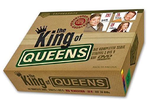 The King of Queens Box Die komplette Serie - IPS-Box Staffel 1-9 [36 DVDs]