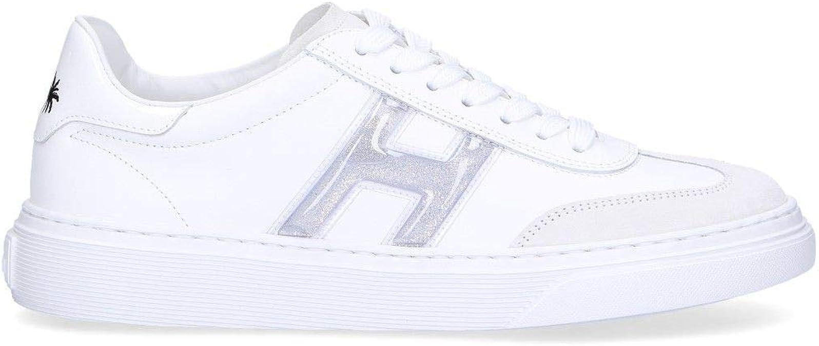 Hogan HXW3650BJ50KGYB001 Sneaker in Pelle Bianca, Bianco ...