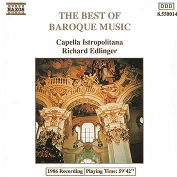 BEST OF BAROQUE MUSIC (CAPELLA ISTROPOLITANA)