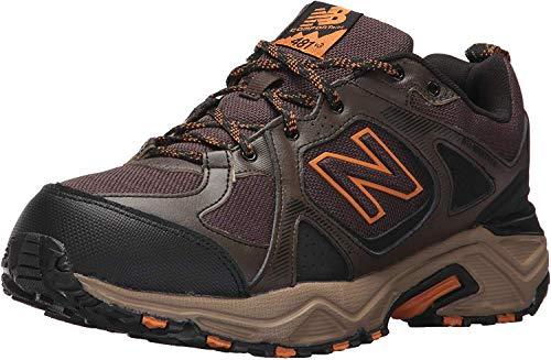 New Balance Men's 481 V3 Trail Running Shoe, Chocolate Brown/Black, 12 XW US