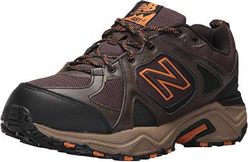 New Balance Men's 481 V3 Trail Running Shoe, Chocolate Brown/Black, 12 XW US