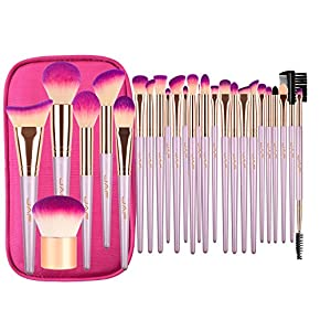 JAF Makeup Eye brush set Natural Hair Eyeshadow Blending Brushes Perfect For Liner Shadow Tapered Pencil Definer Crease Smoky Eyes Makeup Brushes …