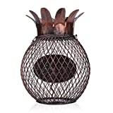 Tooarts Pineapple Wine Cork Container Handcrafts Art Work (type1)