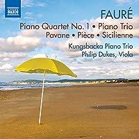 Piano Quartet No. 1/Piano Trio/Pavane/Pieve/Sicili