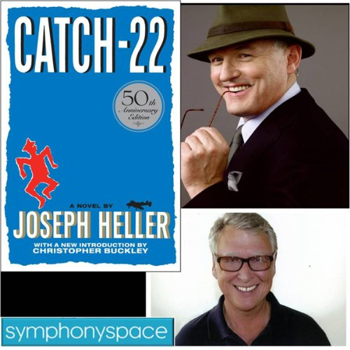 Thalia Book Club: Catch 22 - 50th Anniversary with Christopher Buckley, Robert Gottlieb, and Mike Nichols audiobook cover art