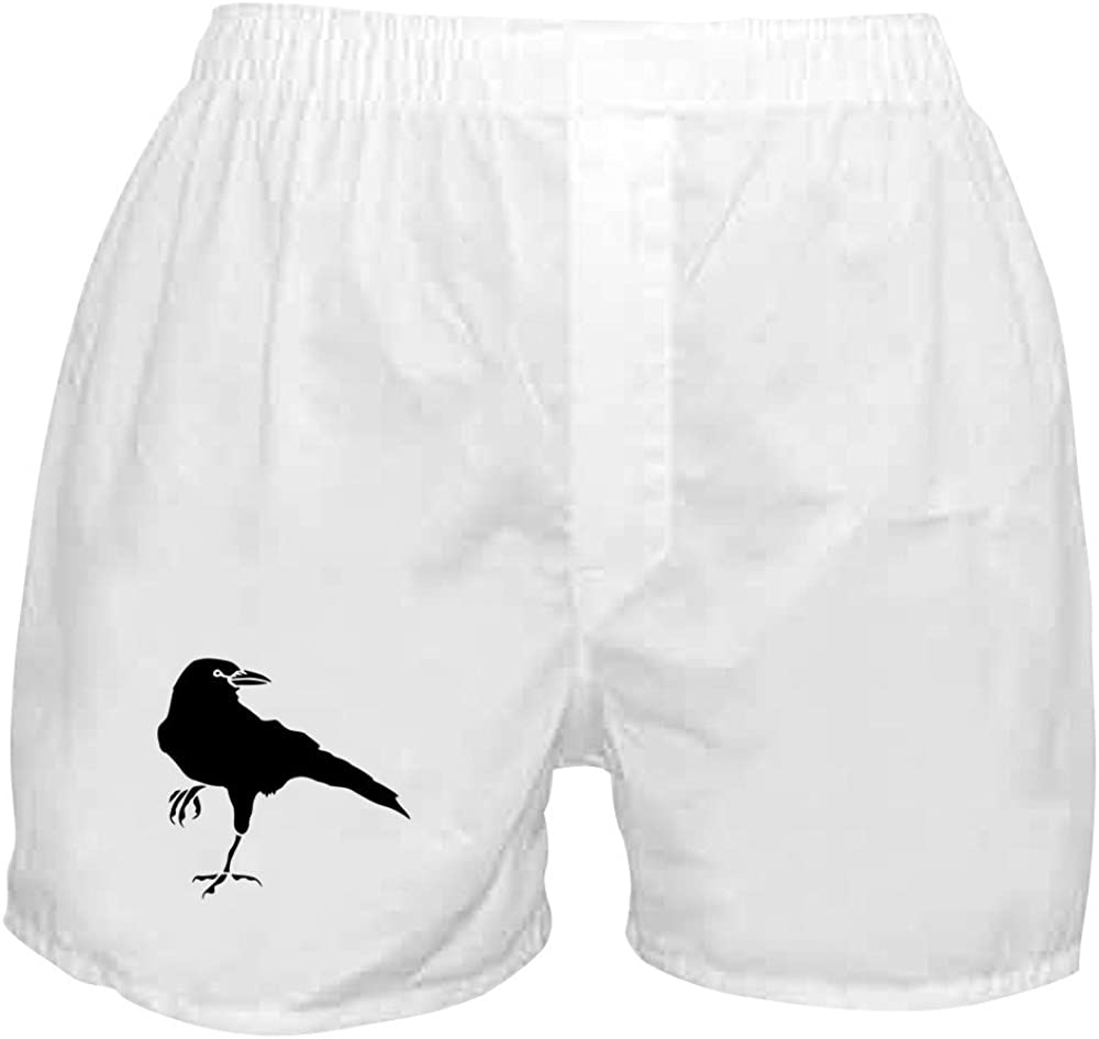 CafePress Crow Novelty Boxer New product!! Shorts Funny Boxers Award-winning store Underwear