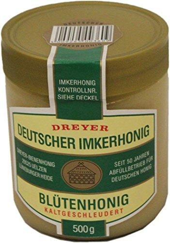 Dreyer Honig Blütenhonig Deutscher Imkerhonig kaltgeschleudert