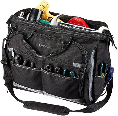 AmazonBasics Sac à outils pour électricien 50 poches