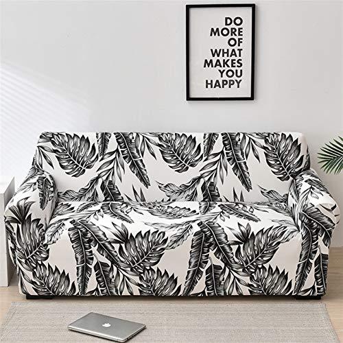 NEWRX Cubierta Floral Sofá Cubierta elástica Cubierta de sofá para Sala de Estar Moderno Cornería Esquina Sofá Sillón Sillón Sillón Cubierta 1/2 / 3/4 plazas