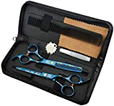 Tijera Peluquería Profesional - Las tijeras for cortar el cabello, 6.0' Trimmer adelgazamiento del cabello Tijeras, tijeras profesionales for el cabello y peluquería tijeras de reducción for el salón,