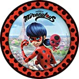 8 Teller * MIRACULOUS * für eine Mottoparty oder Kindergeburtstag // von Amscan // Ladybug...