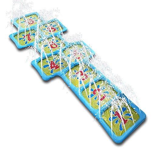 Dough.Q Splash Pad, Aufblasbare Sprinkler Play Matte, Sommer Garten Wasserspielzeug Kinder Baby Pool Pad Spritzen für Baby/Kinder 174 x 60 cm