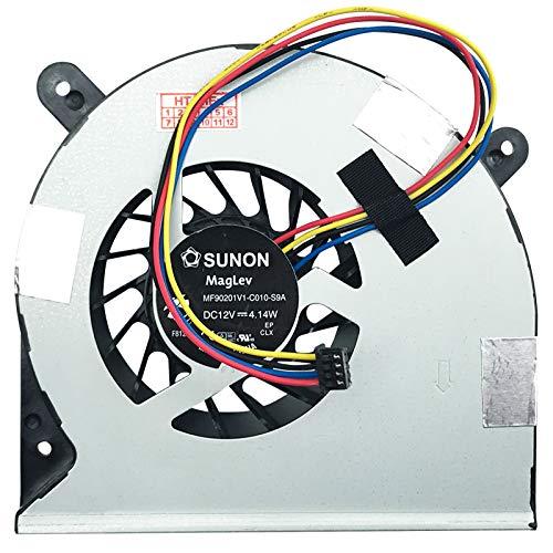 (GPU Big Version ca.25mm) Lüfter Kühler Fan Cooler kompatibel für Asus G750J, G750JS, G750JX, G750JZ, G750JW, G750V, G750JM, G750JY, G750, G750JH, V230IC, ET2321