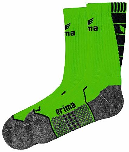 erima Herren Trainingssocken, grün/schwarz, 4, 318615