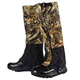 Rainbow Finch Outdoor Durable Waterproof Highly Breathable Hiking Climbing Hunting High Leg Gaiters Snow Legging Leg Cover Wraps
