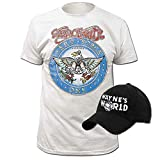 Wayne's World T-shirt and Hat Costume Set (Adult Small)