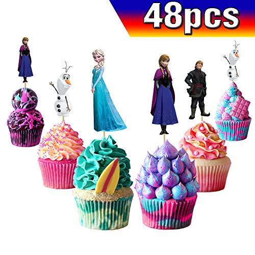 Die Eiskönigin - Völlig unverfroren, Dekorationen, Partydekoration, für Geburtstagsparty, Schnee-Prinzessinnen-Party
