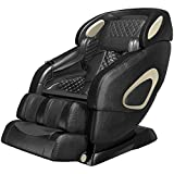 YITAHOME Full Body Massage Chair Zero Gravity SL Track Massage Chair with 3D Robort Hand Airbags Waist Heater Body Scan Shiatsu Yoga Thia Massage Foot Roller for Home Living Room