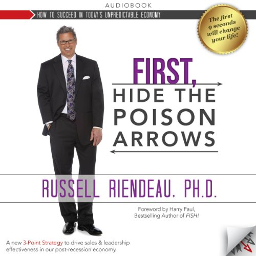First, Hide the Poison Arrows audiobook cover art