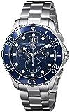TAG Heuer Aquaracer Grande Date - Reloj (Reloj de Pulsera, Masculino, Acero,...