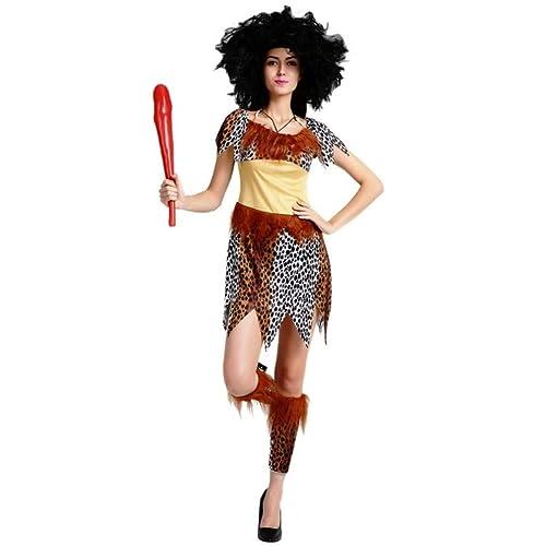 Maxim Party Supplies Caveman Cavewoman Adult Couples Costume Halloween