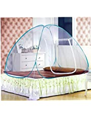 Yililay Draagbare pop-up campingtent, bed-overkapping, muggennet, 100 x 190 cm