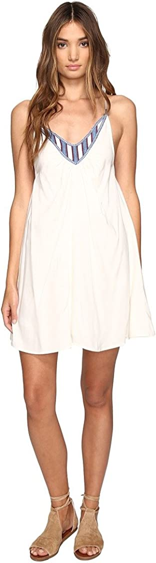 Volcom Junior's Money Tree Strappy Dress with Embroidery