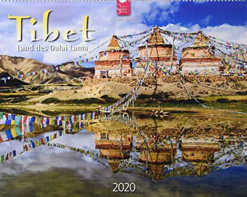 Tibet - Land des Dalai Lama: Original Stürtz-Kalender 2020 - Großformat-Kalender 60 x 48 cm