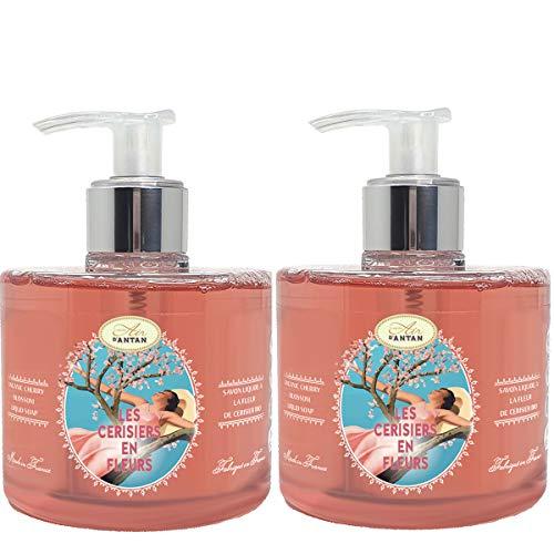 Set de 2 Jabónes De Manos Liquido 2x300 ml Con Flor De...