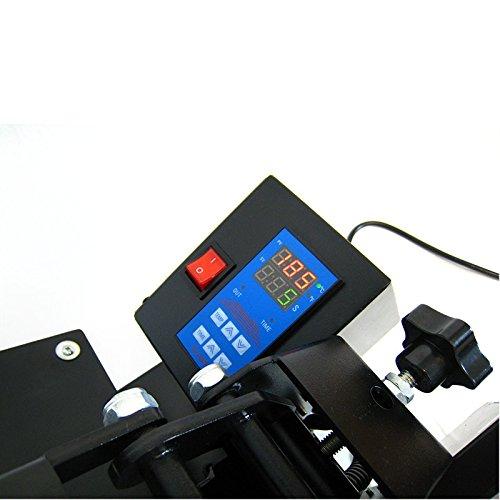 HobbyCut AA1-S Transferpresse 38cm x 38cm Textilpresse 2000 Watt Modell 2016 - 7