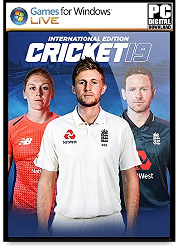 Cricket 19 (International Edition) - Digital Download - No DVD/CD - Full PC Game
