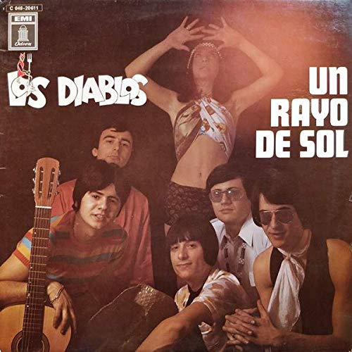 Los Diablos - Un Rayo De Sol - Odeon - 1 C 048-20611