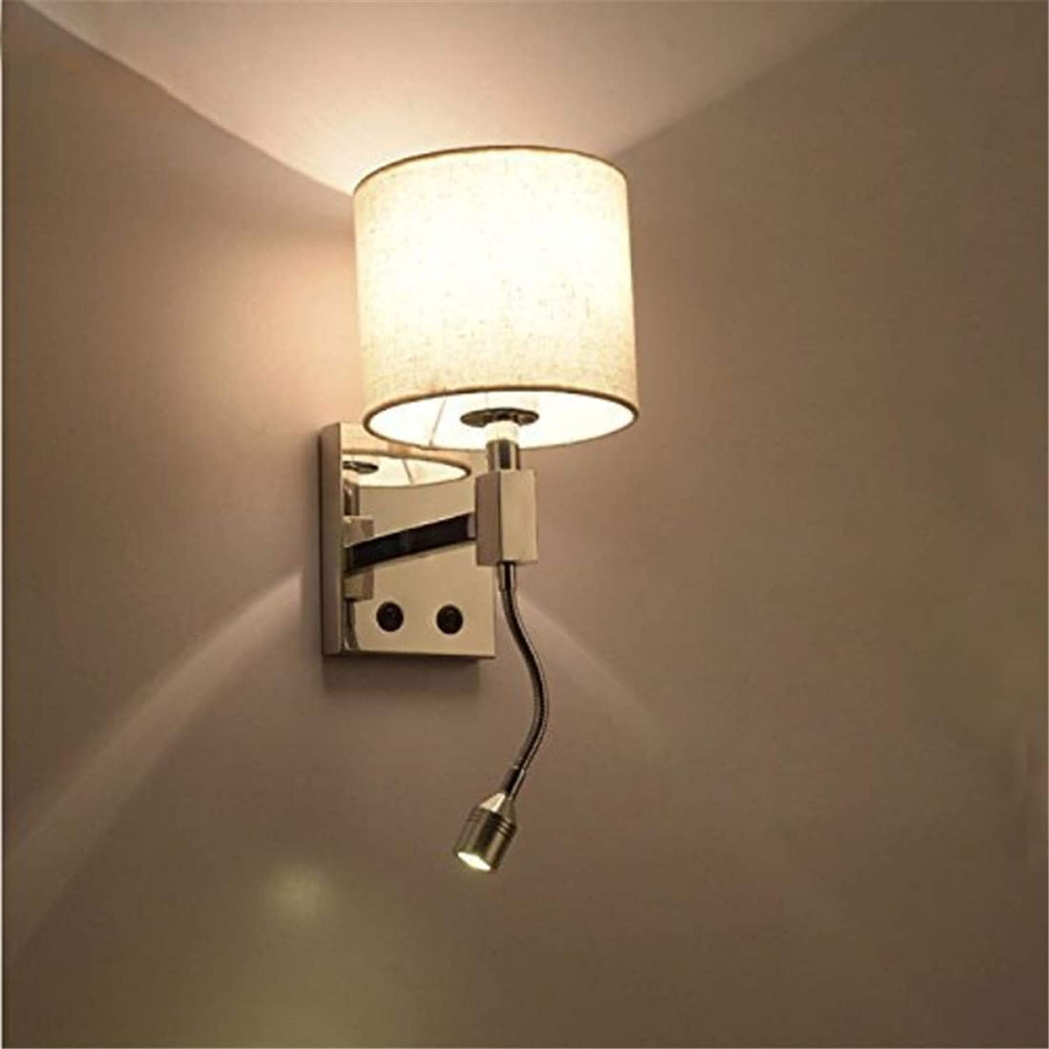 Lichtmodern Cloth Wall Lamp Wall Sconce Light Aisle Bedside Decoration Light