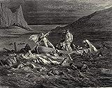 Berkin Arts Gustave Dore Giclee Kunstdruckpapier Kunstdruck Kunstwerke Gemälde Reproduktion Poster Drucken(Das Inferno Canto 2) #XZZ