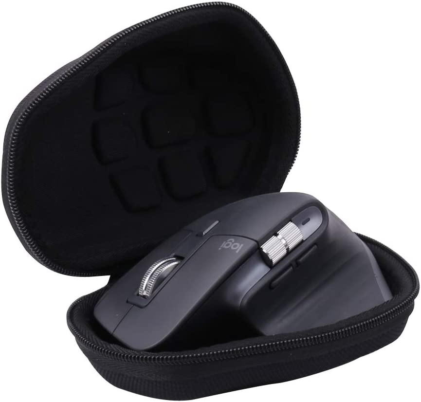 Aenllosi Hard Carrying Case Replacement for Logitech MX Master 3 Advanced Wireless Mouse (Black)
