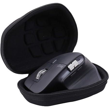 ワイヤレスマウス 収納ケース Logicool ロジクール MX Master 3 無線マウス対応 -Aenllosi (ブラック)