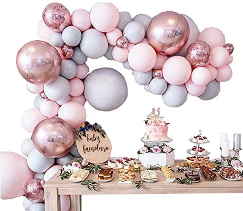 Macaron Balloon Chain Set, Wedding Party, Birthday & Wedding Supplies, Valentine's Day Decoration Balloon, Garland Candy Party Baby Shower Party Supplies 179pcs