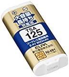 ELPA エルパ 子機用 大容量長持ち充電池 TSA-125