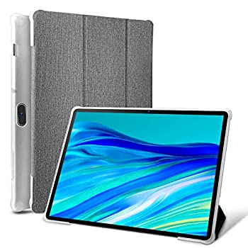 Pritom 10 inch Tablet Cover Case Compatible with Pritom Tronpad 10 inch Tablet & M10 or 3G M10- Fixed Viewing Angle Stand Folio and All-Round Protection