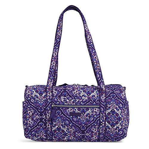Vera Bradley Women's Signature Cotton Small Travel Duffel Bag, Regal Rosette, One Size