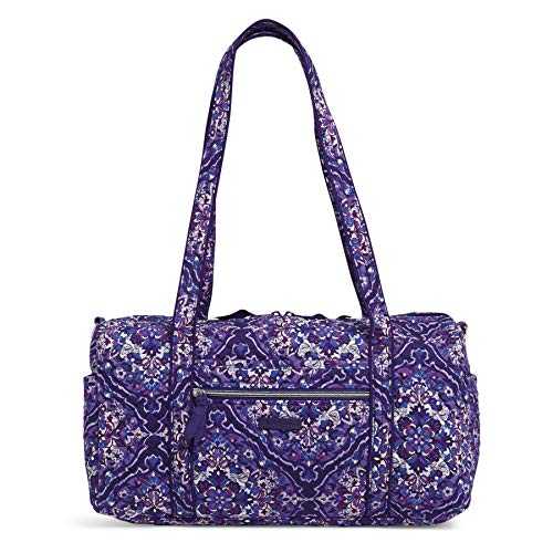 Vera Bradley Signature Cotton Small Travel Duffel, Regal Rosette