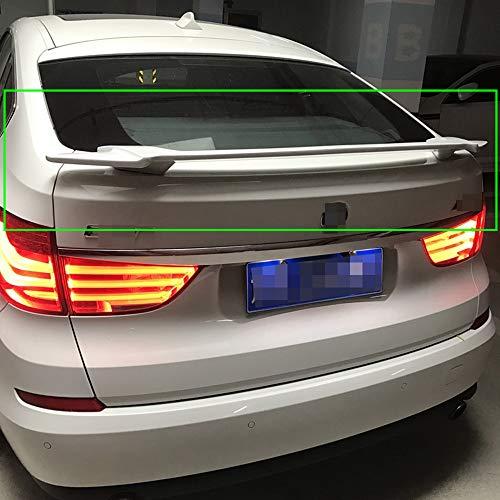JTAccord ABS Auto Heckspoiler Standard Heckklappe Spoiler Dach Heck Heck Kofferraum Lippe Windschutzscheibe Flügel für BMW 5er F07 GT Style 530d 535d 535i 550i 2010-2017, Modifikation