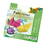 Folia 8970 - Papel de notas (70 g/m², 20 x 20 cm, 500 hojas, 10 colores) [Importado de Alemania]