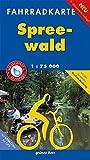 Fahrradkarte Spreewald: Mit dem kompletten Gurken-Radweg. Mit UTM-Gitter für GPS. Wasser- und reißfest. (Fahrradkarten) - Lutz Gebhardt