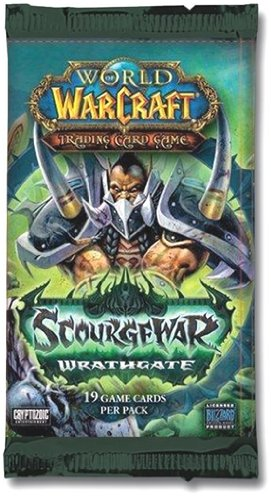 Upper Deck World of Warcraft - Wrath Gate Booster