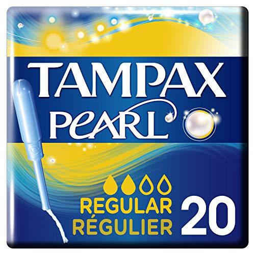 Tampax Pearl Regular Tampones Con Aplicador - 20 Unidades